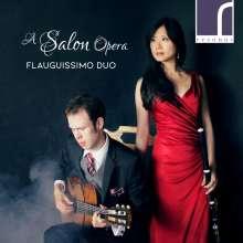 Yu-Wei Hu & Johan Löfving - A Salon Opera, CD