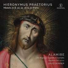 Hieronymus Praetorius (1560-1629): Motetten zu 8,10,12,16 & 20 Stimmen, 2 CDs