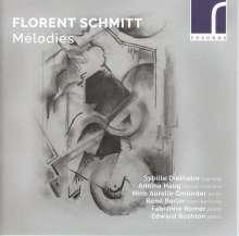 """Florent Schmitt (1870-1958): Lieder """"Melodies"""", CD"""