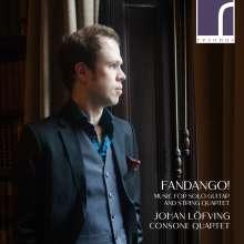 Johan Löfving & Consone Quartet - Fandango!, CD
