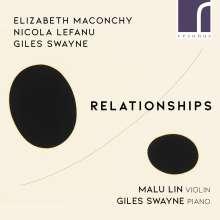 Malu Lin & Giles Swayne - Relationships, CD