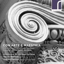 Con Arte Maestria - Virtuoso Violin Ornamentation from the Dawn of the Italian Baroque, CD
