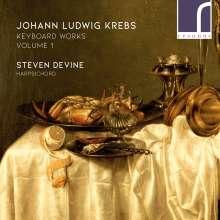 Johann Ludwig Krebs (1713-1780): Cembalowerke Vol.1, CD