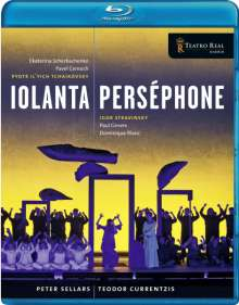 Igor Strawinsky (1882-1971): Persephone, Blu-ray Disc