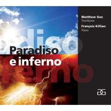 Matthew Gee - Paradiso e inferno, CD