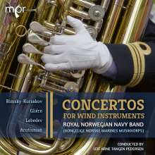 Royal Norwegian Navy Band - Concertos, CD