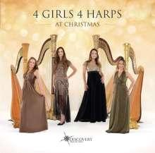 4 Girls 4 Harps: At Christmas, CD