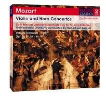Wolfgang Amadeus Mozart (1756-1791): Violinkonzerte Nr.3-5, 2 CDs