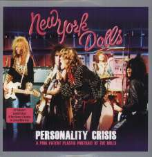 New York Dolls: Personality Crisis (Limited Edition) (White Vinyl), 2 LPs