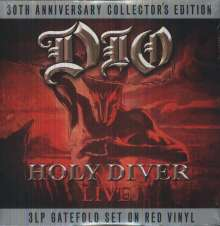 Dio: Holy Diver (Limited Collector's Edition) (Red Vinyl), 3 LPs