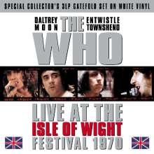 The Who: Live At The Isle Of Wight Festival 1970 (Limited Edition) (Blue Vinyl), 3 LPs