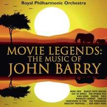 Filmmusik: Movie Legends: The Music Of John Barry, CD