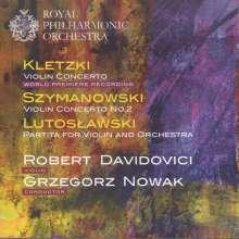 Paul Kletzki (1900-1973): Violinkonzert op.19, CD