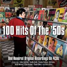 100 Hits Of The '50s, 4 CDs