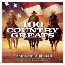 100 Country Greats, 4 CDs