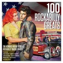 100 Rockabilly Greats, 4 CDs