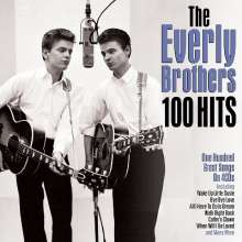 The Everly Brothers: 100 Hits, 4 CDs