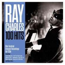 Ray Charles: 100 Hits, 4 CDs
