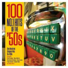 100 No.1 Hits Of the 50s, 4 CDs