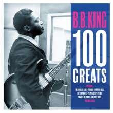 B.B. King: 100 Greats, 4 CDs