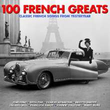 100 French Greats, 4 CDs