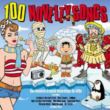 100 Novelty Songs, 4 CDs