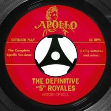 """The """"5"""" Royales: The Complete Apollo Recordings, 2 CDs"""