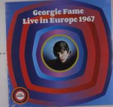 Georgie Fame (geb. 1943): Live In Europe 1967 - Rhythm And Blues And Jazz, LP
