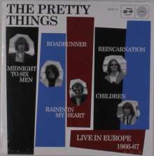 The Pretty Things: Live In Europe 1966-67 (mono), Single 7""