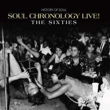Soul Chronology Live! (The Sixties), 4 CDs