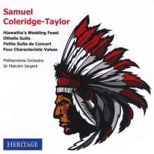 Samuel Coleridge-Taylor (1875-1912): Hiawatha's Wedding Feast, CD