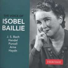 The Voice of Isobel Baillie, CD