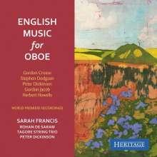 Sarah Francis - English Music for Oboe, CD