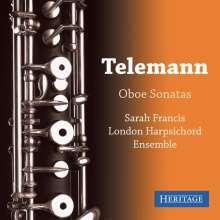 Georg Philipp Telemann (1681-1767): Sonaten für Oboe & Bc, CD