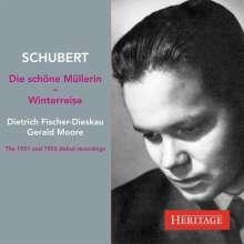 Franz Schubert (1797-1828): Die schöne Müllerin D.795, 2 CDs
