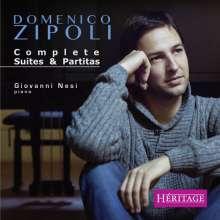 Domenico Zipoli (1688-1726): Sämtliche Suiten & Partiten für Klavier, CD