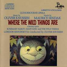 Oliver Knussen (1952-2018): Where the Wild Things are (Oper), CD
