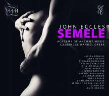 John Eccles (1668-1735): Semele, 2 CDs