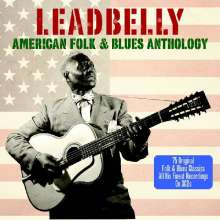 Leadbelly (Huddy Ledbetter): American Blues & Folk History, 3 CDs
