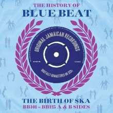 History Of Blue Beat, 3 CDs