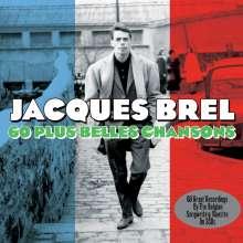 Jacques Brel (1929-1978): 60 Plus Belles Chansons, 3 CDs