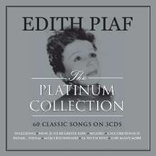 Edith Piaf (1915-1963): The Platinum Collection (Digipack), 3 CDs