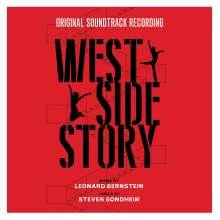 Leonard Bernstein (1918-1990): Filmmusik: West Side Story (O.S.T.) (180g) (Red Vinyl), LP