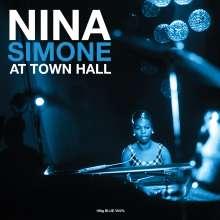 Nina Simone (1933-2003): At Town Hall (180g) (Blue Vinyl), LP