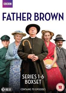 Father Brown Season 1-6 (UK Import), 20 DVDs
