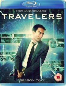 Travelers Season 2 (Blu-ray) (UK Import), 3 Blu-ray Discs