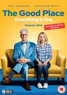 The Good Place Season 1 (UK Import), 2 DVDs