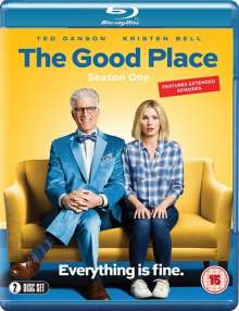 The Good Place Season 1 (Blu-ray) (UK Import), 2 Blu-ray Discs