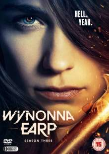Wynonna Earp Season 3 (UK Import), 3 DVDs