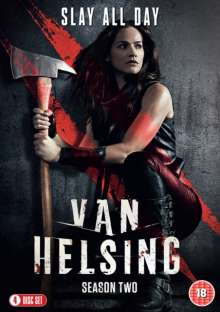 Van Helsing Season 2 (UK Import), 4 DVDs